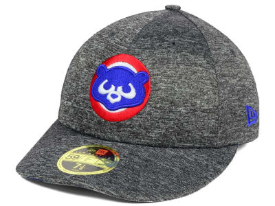 Chicago Cubs New Era MLB Shadowed Low Profile 59FIFTY Cap