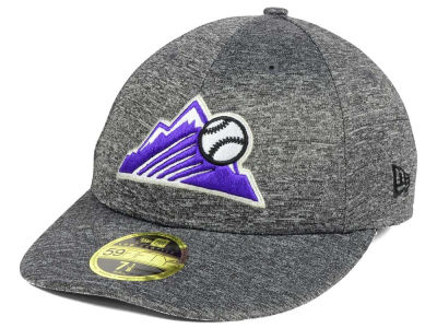 Colorado Rockies New Era MLB Shadowed Low Profile 59FIFTY Cap
