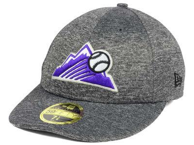 Colorado Rockies New Era MLB Shadowed Low Profile 59FIFTY Cap ff229ef8eba9