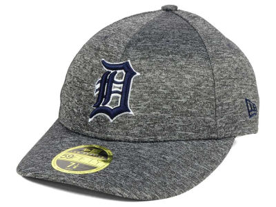Detroit Tigers New Era MLB Shadowed Low Profile 59FIFTY Cap