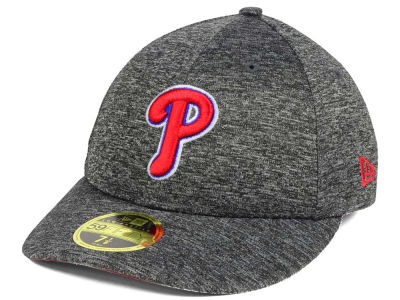 Philadelphia Phillies New Era MLB Shadowed Low Profile 59FIFTY Cap