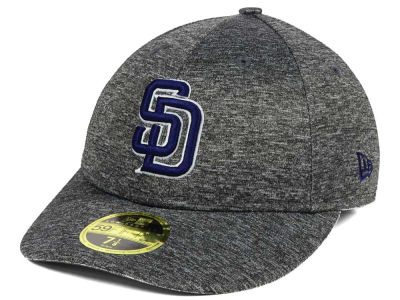 San Diego Padres New Era MLB Shadowed Low Profile 59FIFTY Cap
