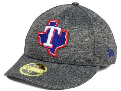 Texas Rangers New Era MLB Shadowed Low Profile 59FIFTY Cap
