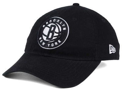 Brooklyn Nets New Era NBA Black White 9TWENTY Cap