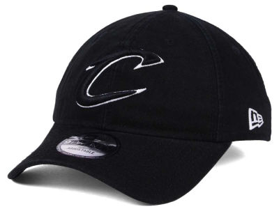 Cleveland Cavaliers New Era NBA Black White 9TWENTY Cap