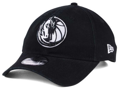 Dallas Mavericks New Era NBA Black White 9TWENTY Cap