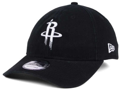 Houston Rockets New Era NBA Black White 9TWENTY Cap