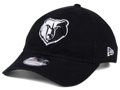 Memphis Grizzlies New Era NBA Black White 9TWENTY Cap