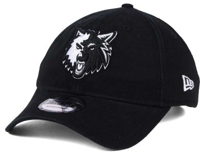 Minnesota Timberwolves New Era NBA Black White 9TWENTY Cap