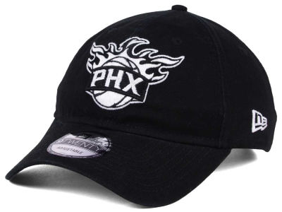 Phoenix Suns New Era NBA Black White 9TWENTY Cap