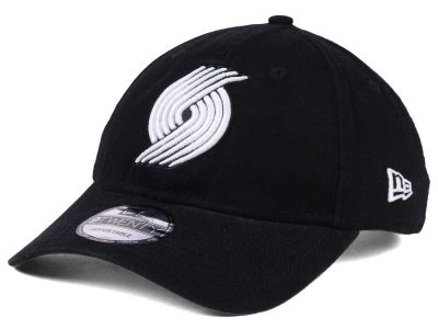 Portland Trail Blazers New Era NBA Black White 9TWENTY Cap
