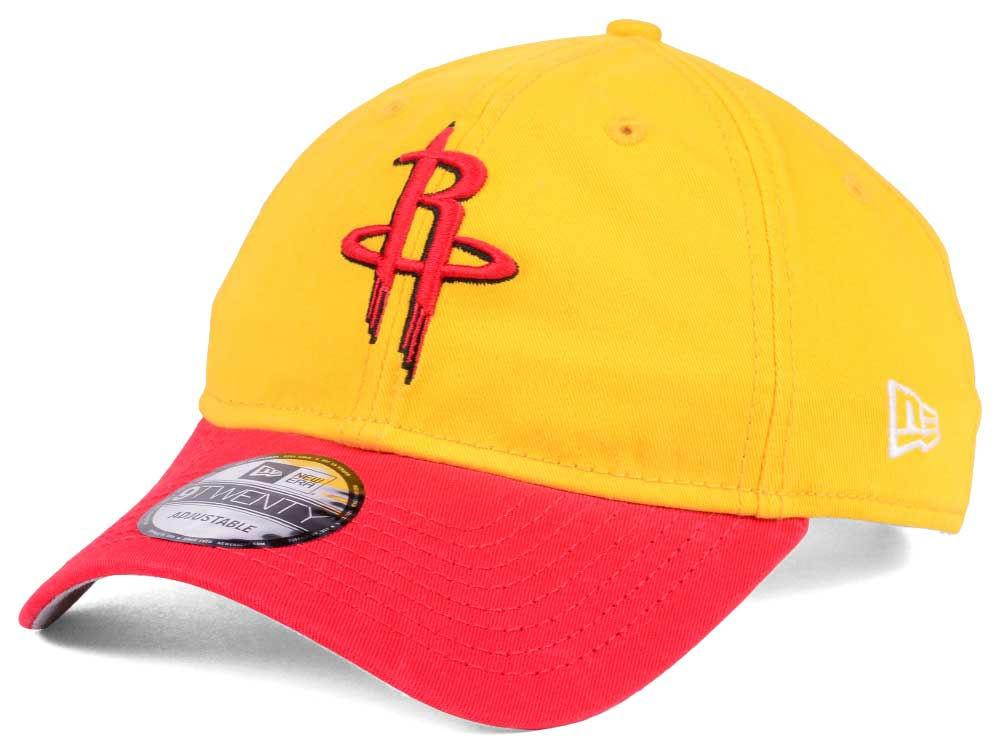 best value d1aa8 06421 Houston Rockets New Era NBA 2 Tone Shone 9TWENTY Cap