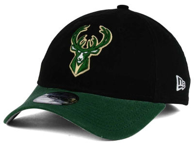 Milwaukee Bucks New Era NBA 2 Tone Shone 9TWENTY Cap