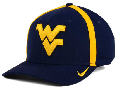 West Virginia Mountaineers Nike NCAA Aerobill Sideline Coaches Cap