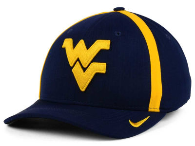 West Virginia Mountaineers Nike NCAA Aerobill Classic Sideline Swoosh Flex Cap