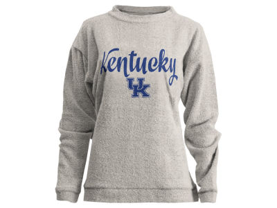 Kentucky Wildcats Pressbox NCAA Women's Comfy Terry Sweatshirt
