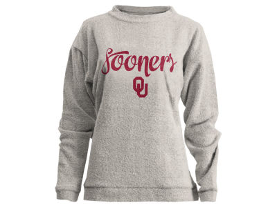 Oklahoma Sooners Pressbox NCAA Women's Comfy Terry Sweatshirt
