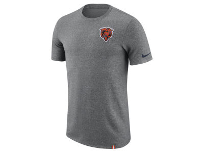 Chicago Bears Nike NFL Men's Marled Patch T-Shirt