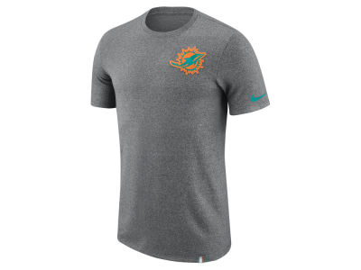 Miami Dolphins Nike NFL Men's Marled Patch T-Shirt