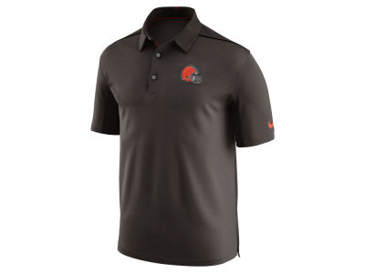 Cleveland Browns Nike NFL Men's Elite Coaches Polo
