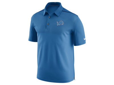 Detroit Lions Nike NFL Men's Elite Coaches Polo