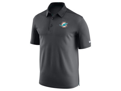 Miami Dolphins Nike NFL Men's Elite Coaches Polo