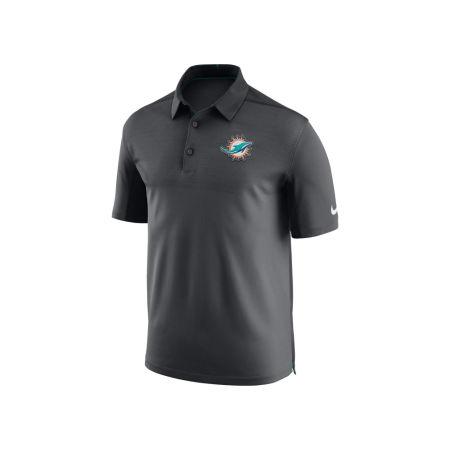 Miami Dolphins Nike NFL Men's Elite Coaches Polo