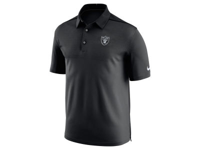 Oakland Raiders Nike NFL Men's Elite Coaches Polo