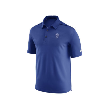 Los Angeles Rams Nike NFL Men's Alternate Elite Coaches Polo