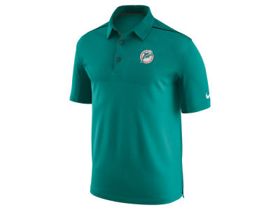 Miami Dolphins Nike NFL Men's Alternate Elite Coaches Polo