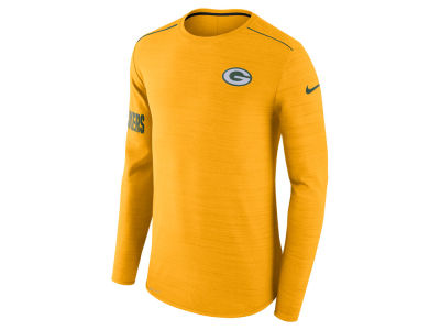 Green Bay Packers Nike NFL Men's Player Top Long Sleeve T-shirt