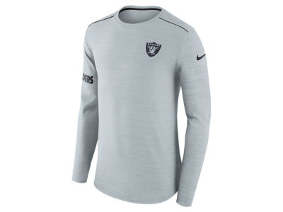 Oakland Raiders Nike NFL Men's Player Top Long Sleeve T-shirt