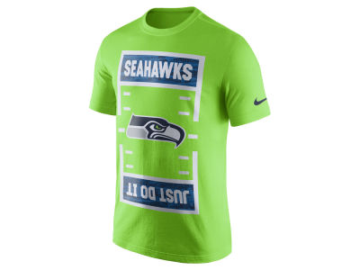 Seattle Seahawks Nike 2017 NFL Men's Just Do It T-Shirt