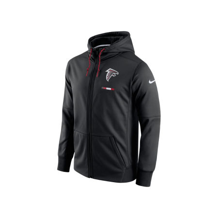 Atlanta Falcons Nike NFL Men's Therma Full Zip Hoodie