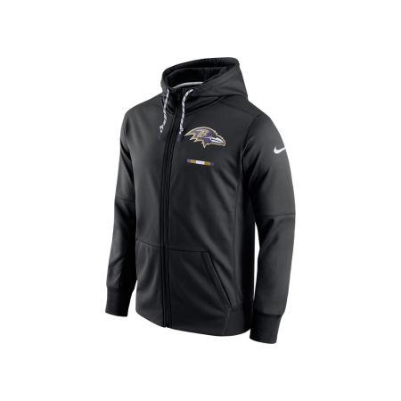 Baltimore Ravens Nike NFL Men's Therma Full Zip Hoodie