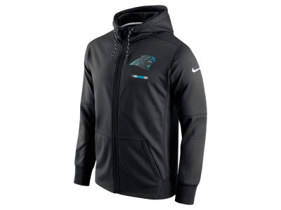 Carolina Panthers Nike NFL Men's Therma Full Zip Hoodie