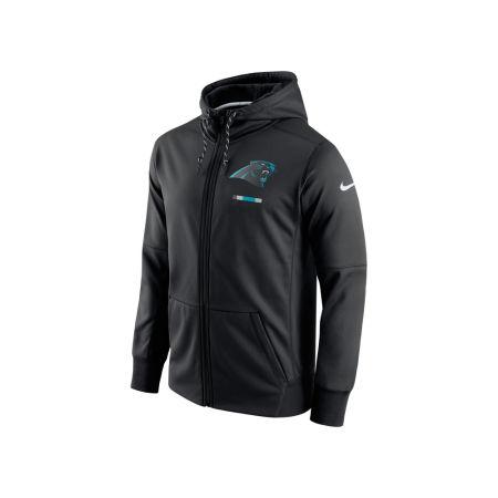Carolina Panthers Nike NFL Men's Therma Full Zip Hoodie