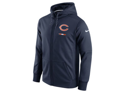 Chicago Bears Nike NFL Men's Therma Full Zip Hoodie