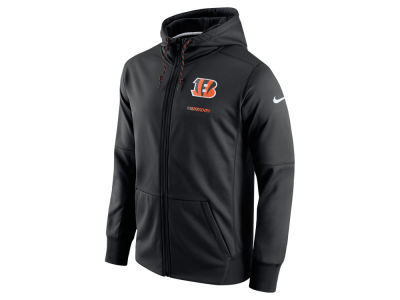 Cincinnati Bengals Nike NFL Men's Therma Full Zip Hoodie