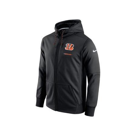 Cincinnati Bengals Nike NFL Men's Therma Full Zip Hoodie