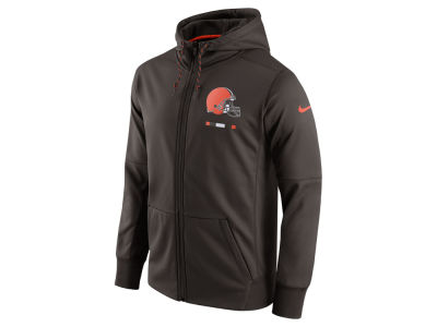 Cleveland Browns Nike NFL Men's Therma Full Zip Hoodie