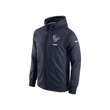Houston Texans Nike NFL Men's Therma Full Zip Hoodie