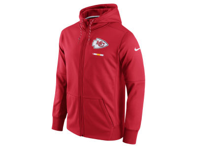 Kansas City Chiefs Nike NFL Men's Therma Full Zip Hoodie