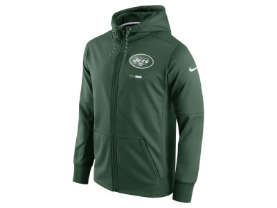 New York Jets Nike NFL Men's Therma Full Zip Hoodie