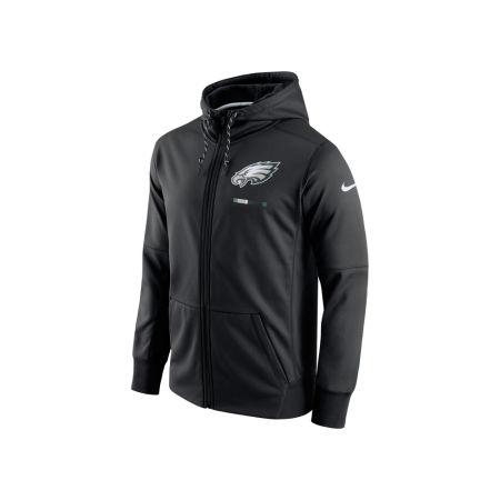 Philadelphia Eagles Nike NFL Men's Therma Full Zip Hoodie