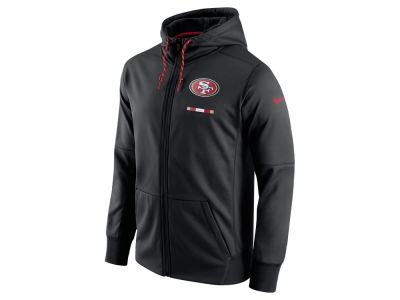 San Francisco 49ers Nike NFL Men's Therma Full Zip Hoodie