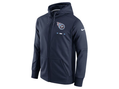 Tennessee Titans Nike NFL Men's Therma Full Zip Hoodie