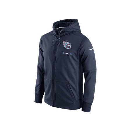 Tennessee Titans Nike NFL Men's Therma Full Zip Hoodie