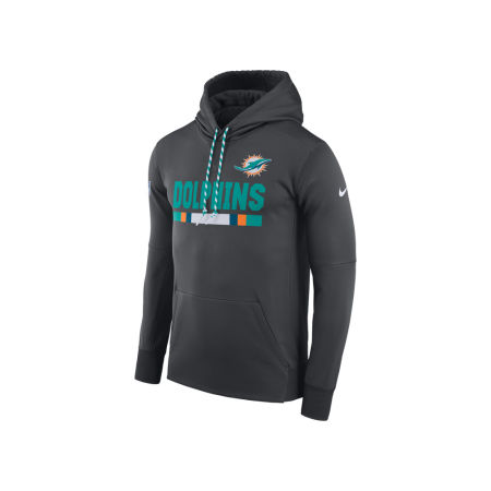 Miami Dolphins Nike NFL Men's Therma Hoodie