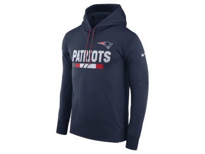New England Patriots Nike NFL Men's Therma Hoodie